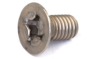 Part#: 32306 - Titanium Flat Head Screw 3 X 6Mm (10)